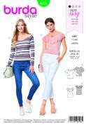6428 Burda Pattern: Ladies T-Shirts